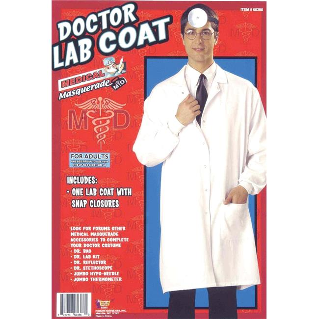 Morris Costumes FM60386 Lab Coat Doctor Costume