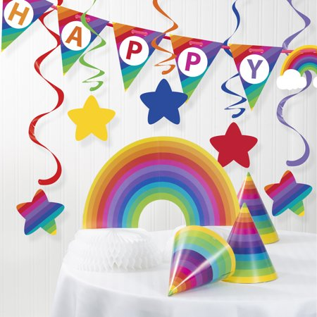 Rainbow Birthday Decoration Kit