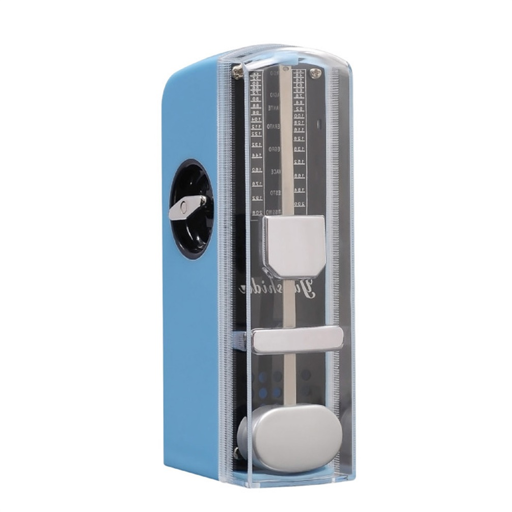 Blue Quality Super Mini Guitar Mechanical Metronome 11cm Height Mobile Metronome New by LESHP