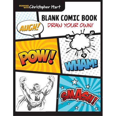 Blank Comic Book: Draw Your Own! (Paperback) Leather Blank Books