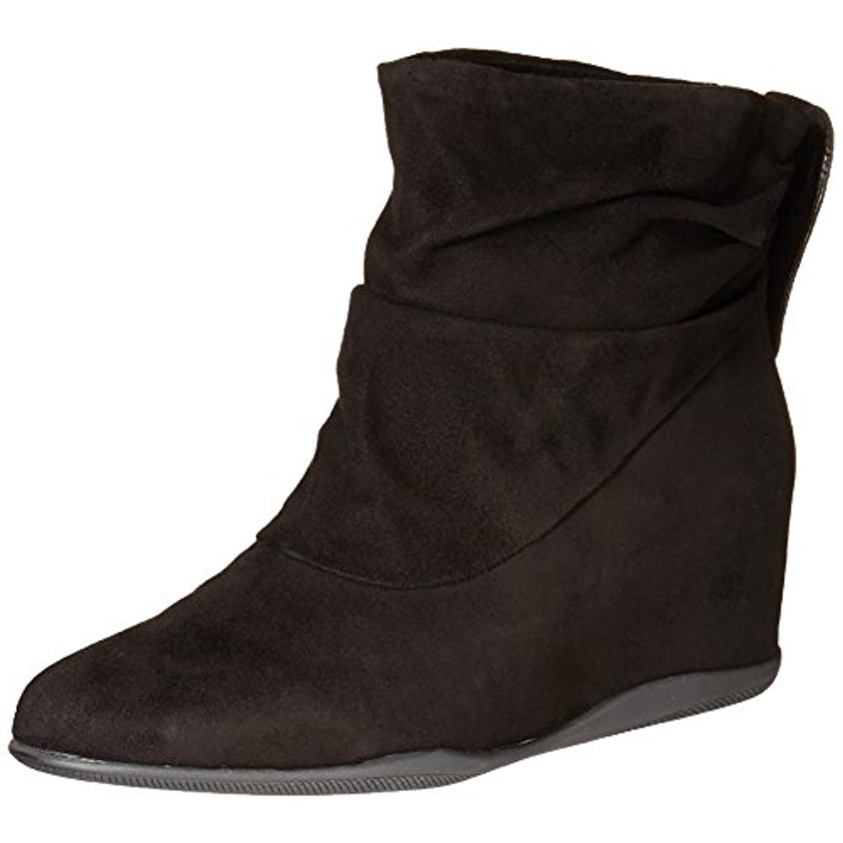Me Too Womens Houston Suede Slouchy Wedge Boots by Me Too