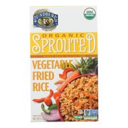 (6 Pack) Lundberg Family Farms Organic Sprouted Vegetable Fried Rice, 6 Oz