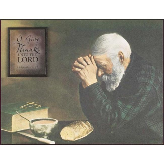 Dicksons Inc SPLK1013-258 Give Thanks Wall Art Grace