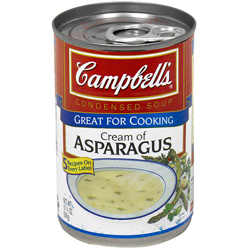 Campbell's Cream Of Asparagus Condensed Soup, 10.75 oz (Pack of 12)