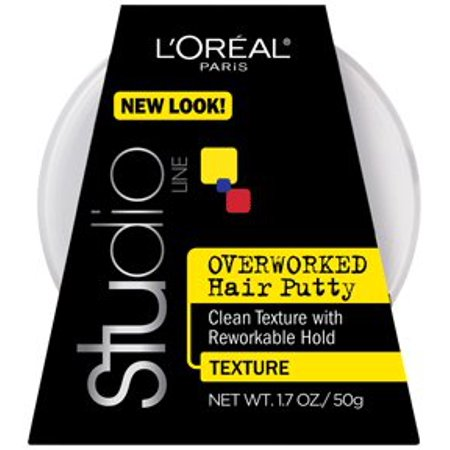 Lor Al Paris Studio Line Overworked Hair Putty  1 7 Oz