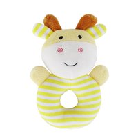 New Fashion Kids Baby Animal Handbells Musical Developmental Toy Bed Bells Rattle Toys Gift