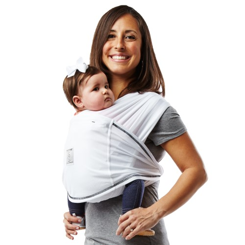 Baby K'tan ACTIVE Baby Carrier in White - Small