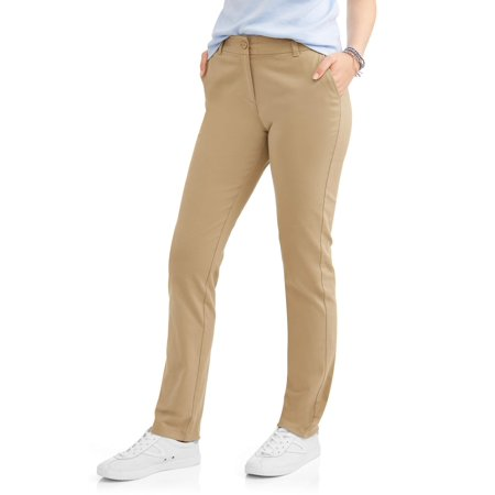 Juniors School Uniform Stretch Twill Skinny Pants - School Clothes