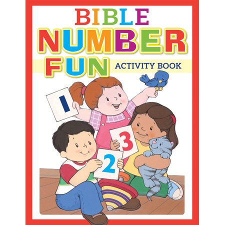 Bible Number Fun Activity Book - Halloween Bible School Activities