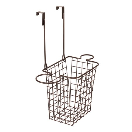 Pleasing Spectrum Diversified Grid Small Over The Cabinet Hair Dryer Holder Accessory Basket Bronze 87824 Interior Design Ideas Ghosoteloinfo