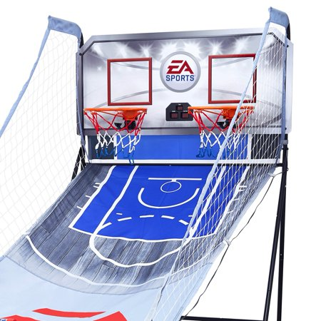 ndoor Basketball Arcade Game, Electronic Scoreboard (2 Pack) (Electronic Basketball)