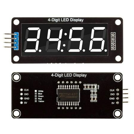 0.56'' TM1637 4Bit Digital LED 7 Segment Clock Tube Display For Arduino - image 2 of 5