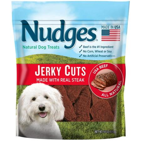 Kong Treats (Nudges Steak Jerky Dog Treats, 18)