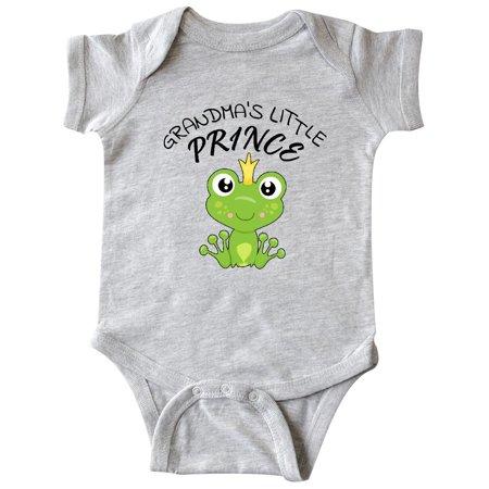24faa94e8411 Grandma s Little Prince- cute frog Infant Creeper - Walmart.com