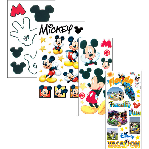 4 Disney Sticker Sets, Your Choice