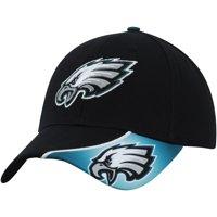 Men's Black Philadelphia Eagles Intervale Adjustable Hat - OSFA