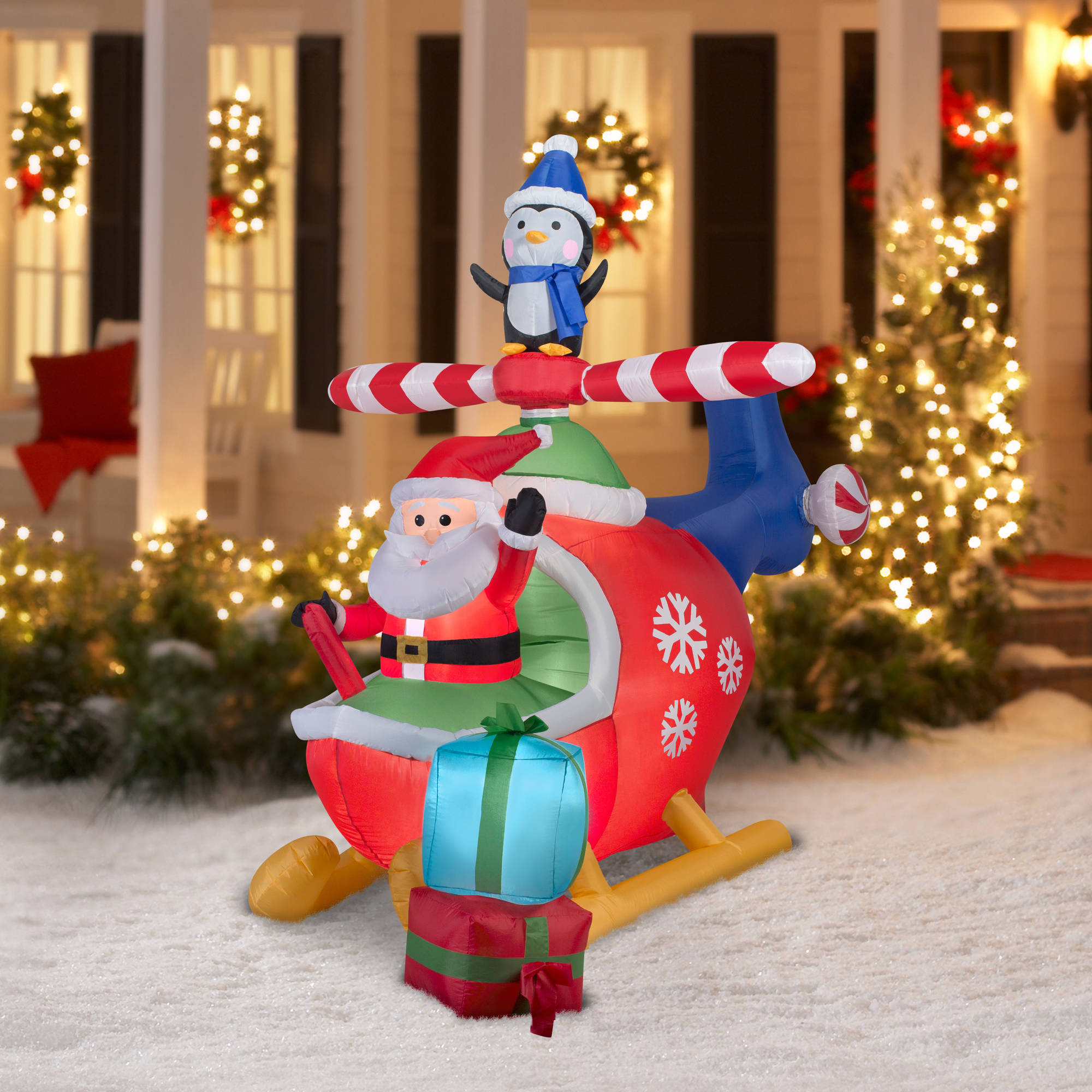 Cheap Inflatable Yard Decorations: Inflatable Christmas Decoration Stopped Working