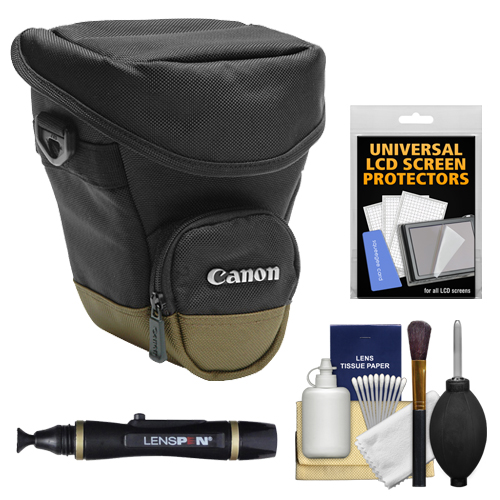 Canon Zoom Pack 1000 Holster Case + Accessory Kit for EOS...