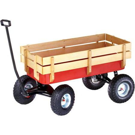 Grizzly Industrial G7112 Heavy Duty Wagon W Wood Sides