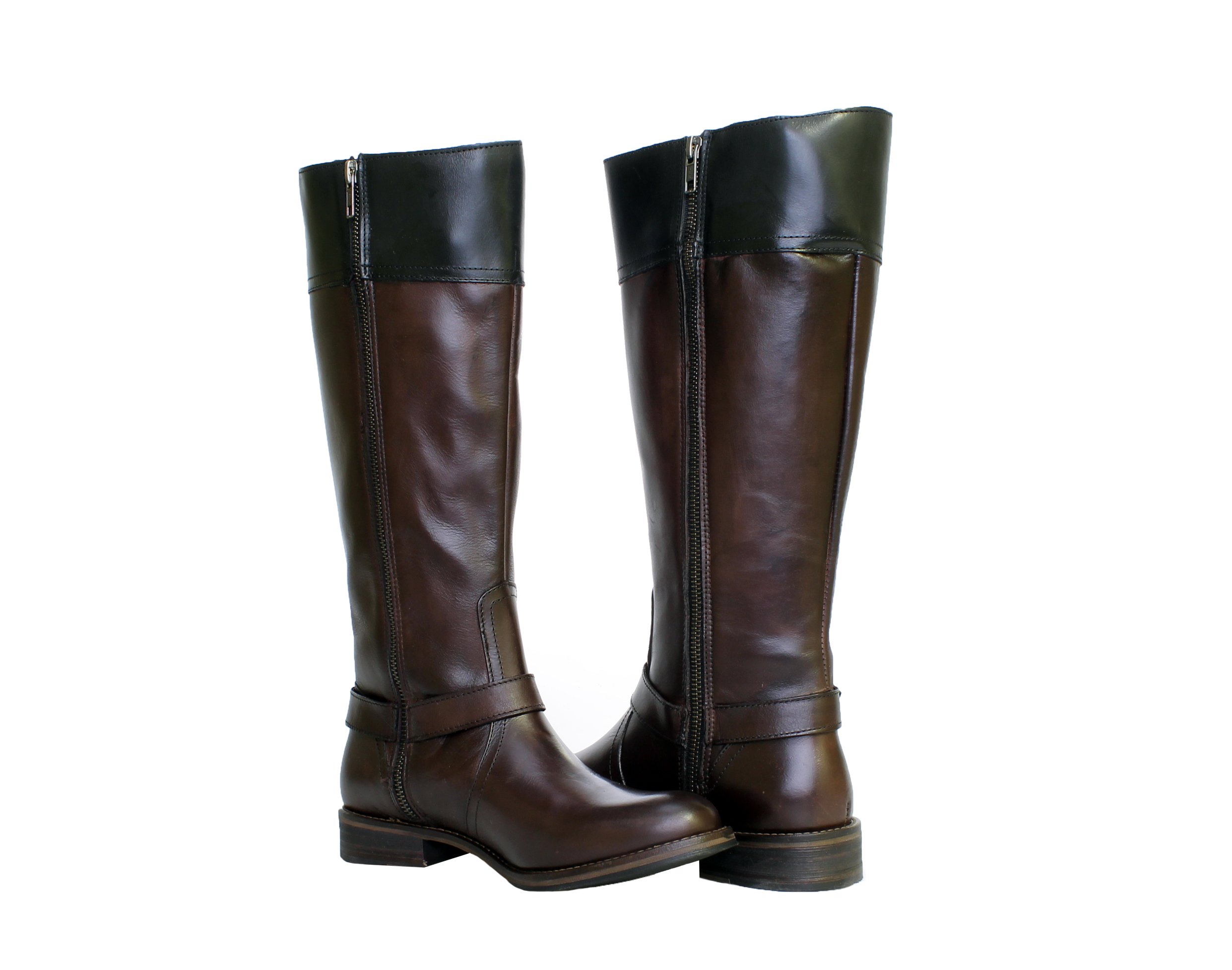 1883 by Wolverine Shannon Dark Brown Women's Riding Boots W40090 by