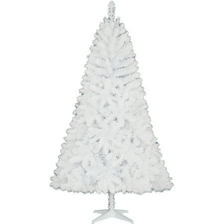 holiday time non lit 65 jackson christmas tree white - White Christmas Trees At Walmart