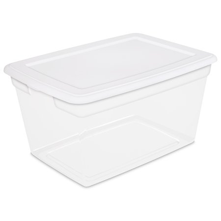 Sterilite 58 Qt. Storage Box White