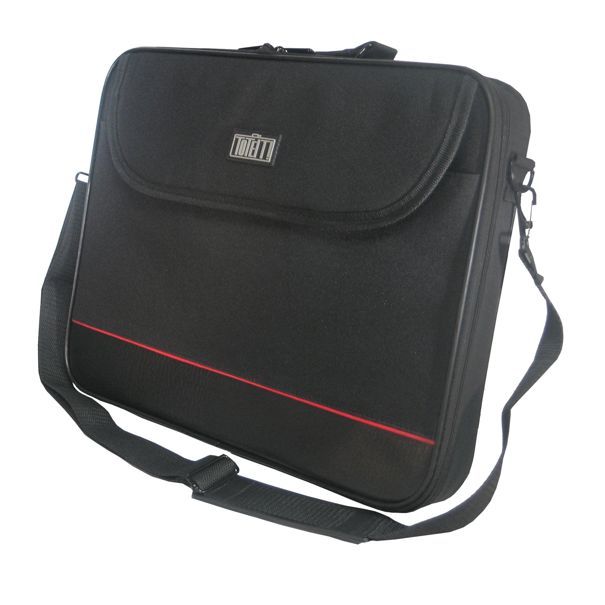 "PC Treasure 07932 ToteIt 15.6"" Laptop Bag, Black"