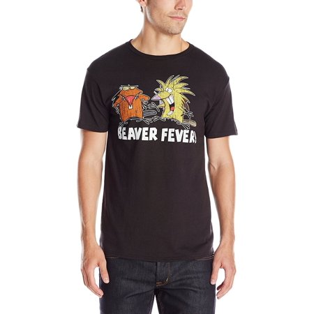 The Angry Beavers Beaver Fever Adult T-Shirt - Angry Beavers Halloween