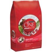Purina ONE SmartBlend Small Bites Beef & Rice Formula Adult Premium Dog Food 16.5 lb. Bag