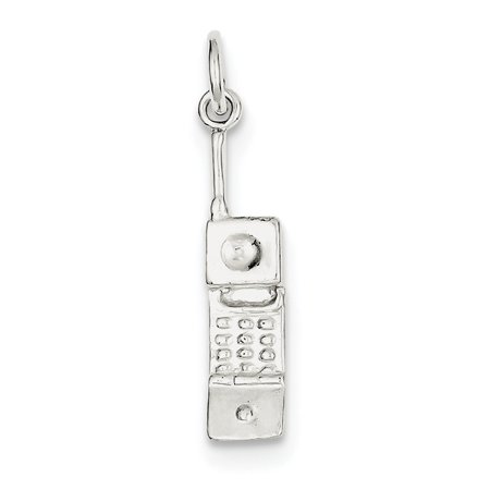 Sterling Silver Cell Phone - Japanese Cell Phone Charms