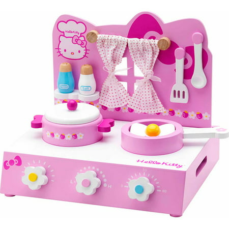 Hello Kitty Table Top Kitchen Play Set Walmart Com