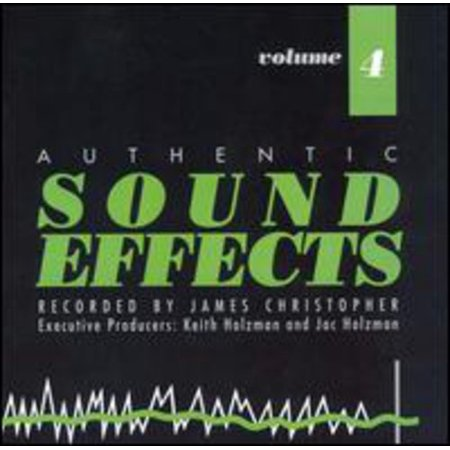 Sound Effects 4 / Various (CD)