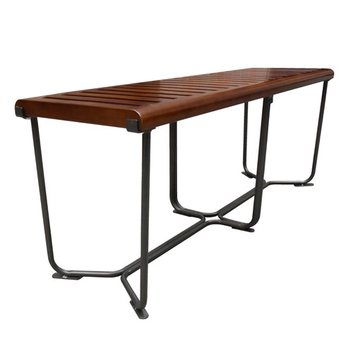 Fine Mod Imports Solid Wood Bench