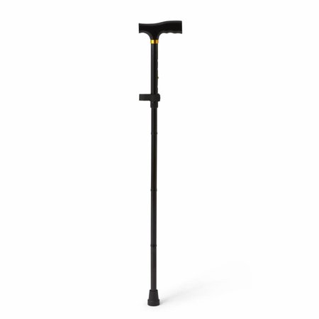 Ncaa Miami Hurricanes Canes - Medline Folding T-Handle Cane, Black