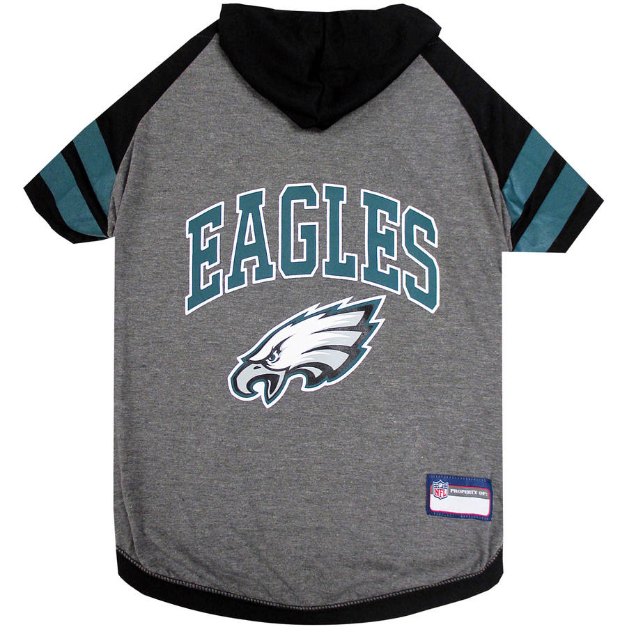 Pets First NFL Philadelphia Eagles Pet Hoodie Tee Shirt
