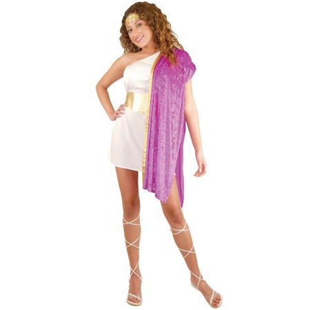 Adult Toga Woman Costume~X-Large 14-16 / Purple