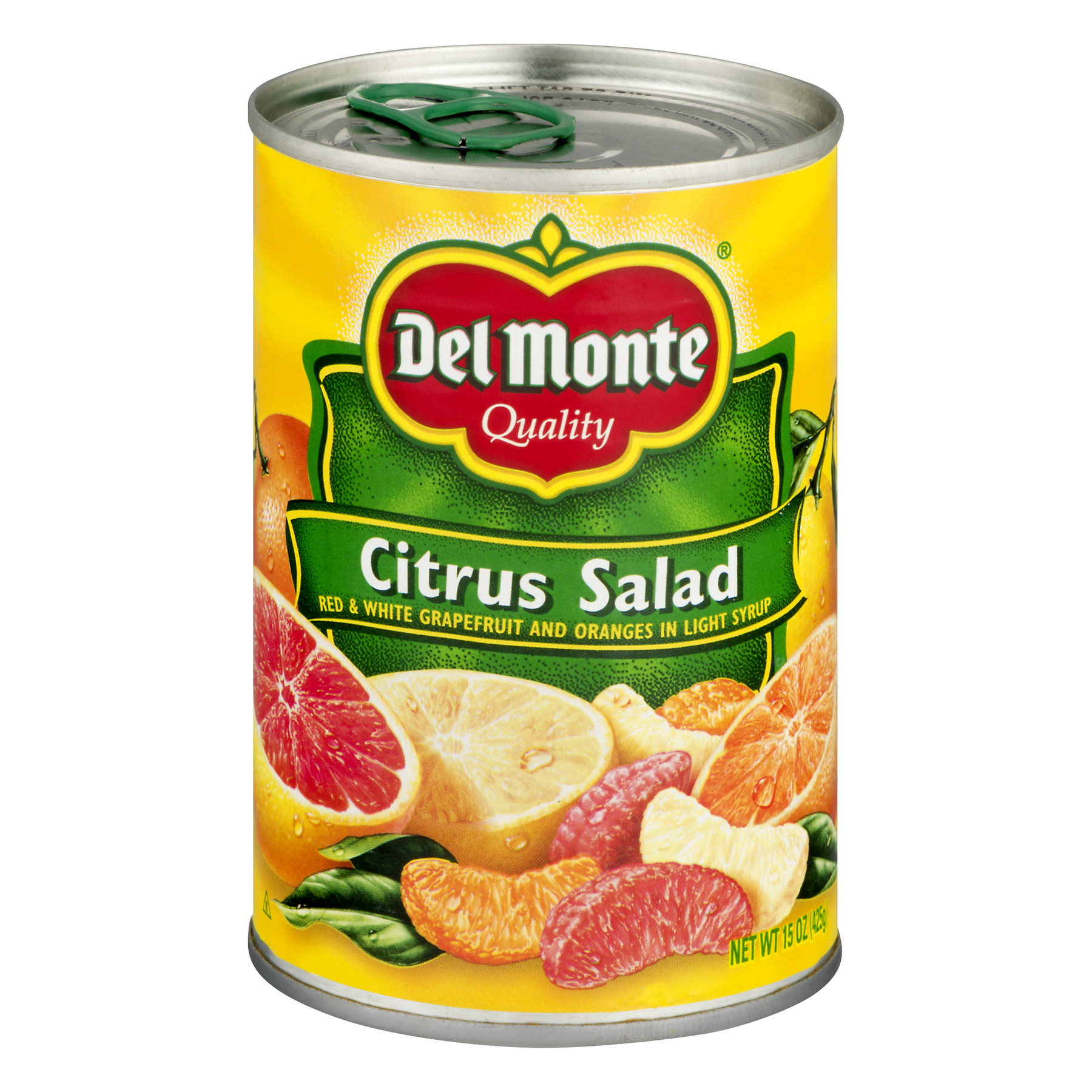 Del Monte Orange Se ctions & Red White Grapefruit In Light Citrus Salad, 15 oz by Citrus