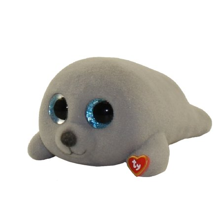 TY Beanie Boos - Mini Boo Figures Series 3 - NEAL the Grey Seal (2 inch)