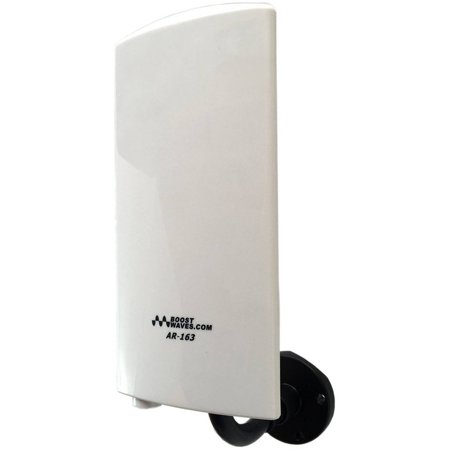 Amplified Digital Outdoor Indoor HDTV Antenna AR-163 UHF/VHF High Quality Far Range OTA Reception