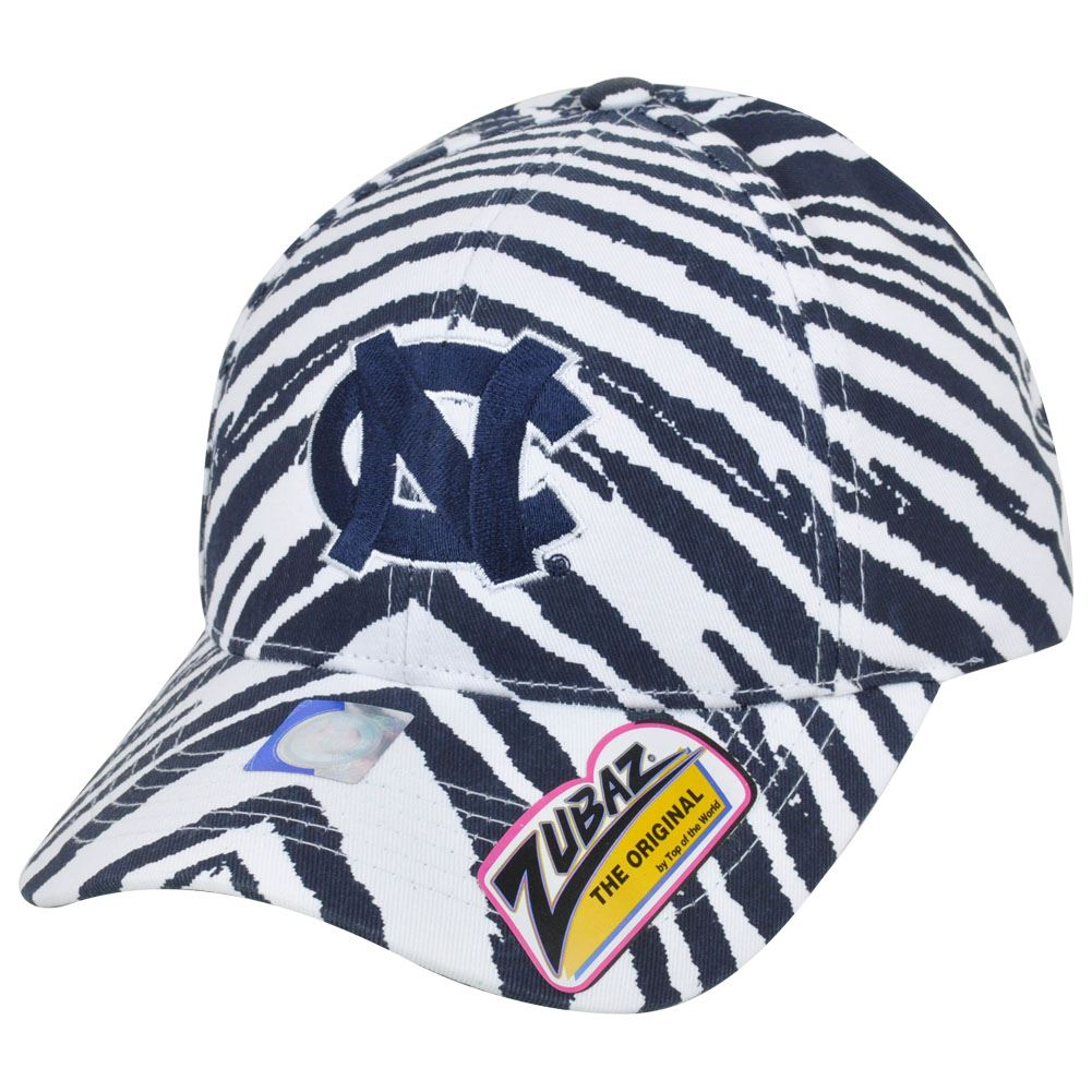 NCAA NC North Carolina Tar Heels Top of the World Smash Zubaz Snapback Hat Cap