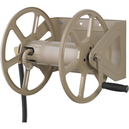 Steel Hose Reels - Dual Wall/Floor Mounted Hose Reel