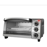BLACK + DECKER 4 Slice Natural Convection Toaster Oven Stainless Steel, TO1755SBC