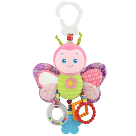 Baby Crib Hanging Toys, Infant Stroller Car Seat Bed Toys, Newborn Activity Development Toy, Babies Cartoon Animal Hanging Rattle Plush Toys