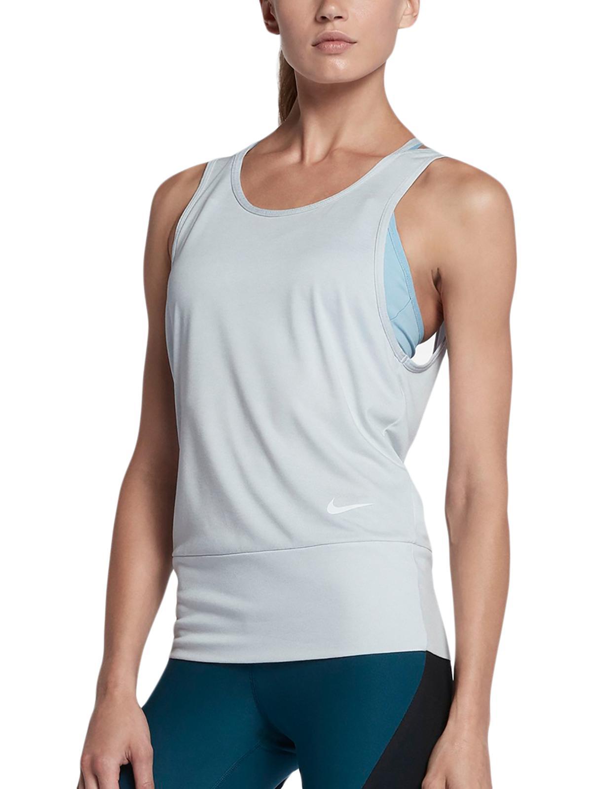 Nike Nike Womens Dry Yoga Fitness Tank Top Walmart Com Walmart Com