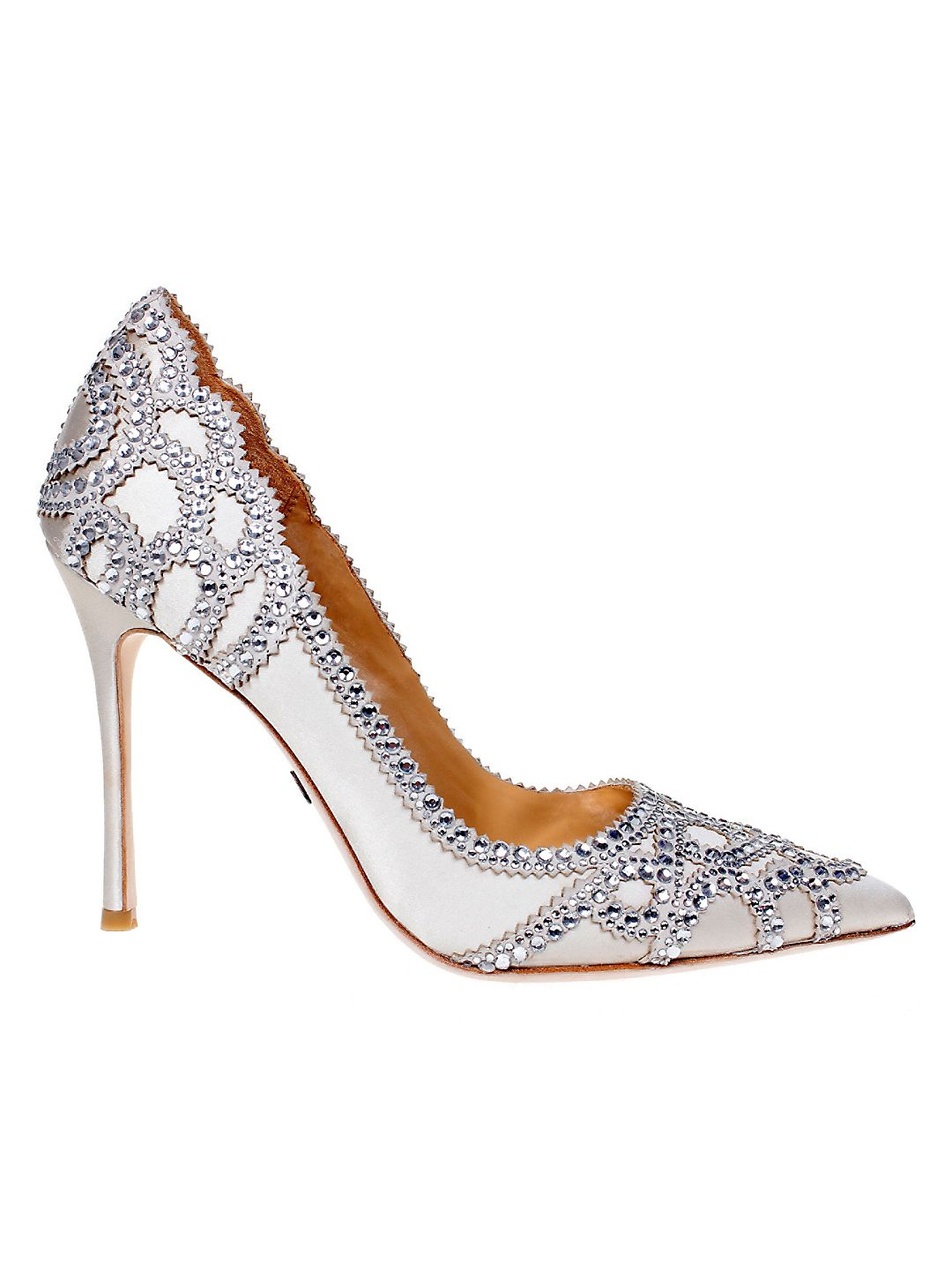 Rouge Embellished Pumps