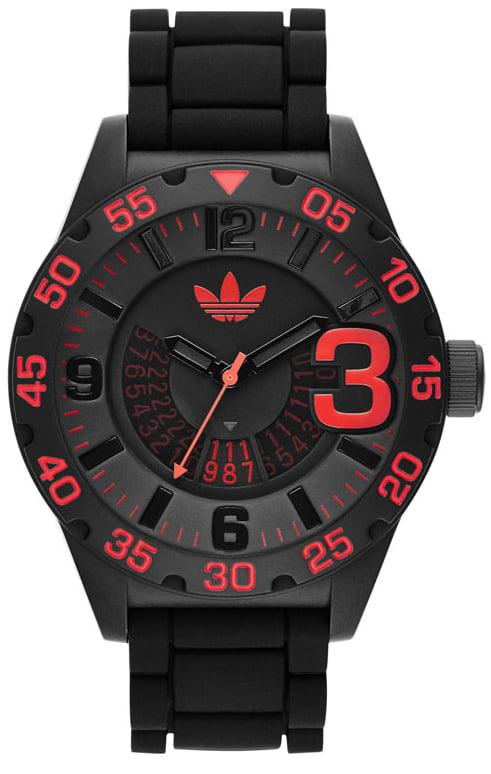 Men's Black Adidas Originals Newburgh Black Dial Watch ADH2965 by Adidas