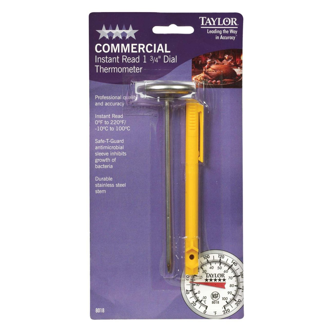 Taylor Five Star Commercial Instant Read Thermometer (Set of 6)