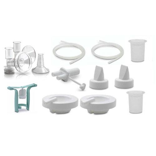 Ameda 17449 Purely Yours Replacement Parts Kit with One-Hand Manual Breastpump B