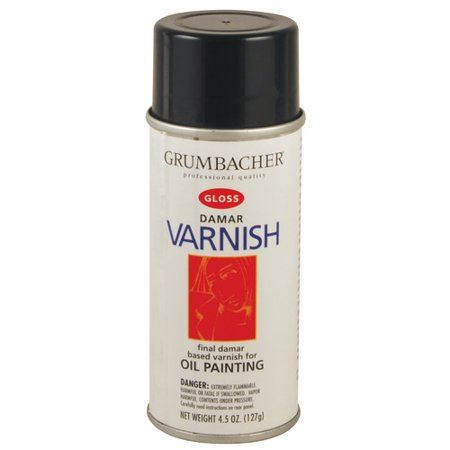CHARTPAK, INC. 545 DAMAR VARNISH GLOSS SPRAY 11OZ