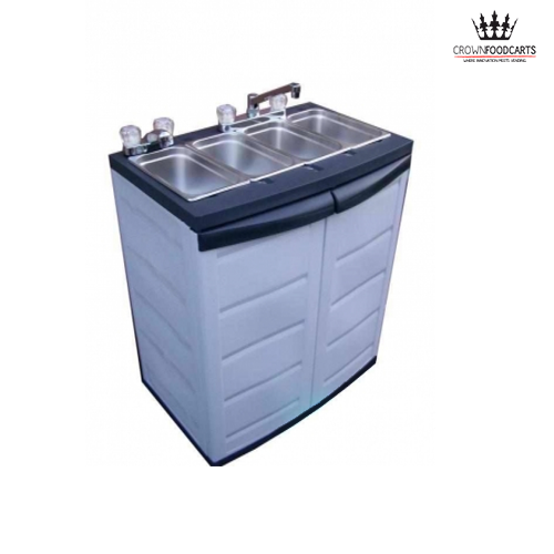 Mobile Electric Concession Sink